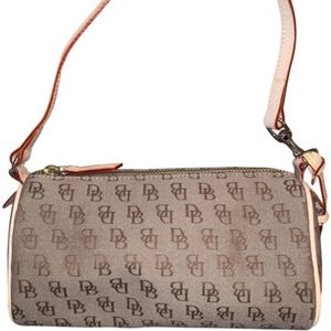 Dooney & Bourke Mini Barrel Wristlet Satchel